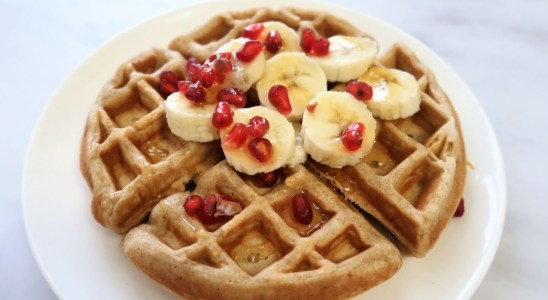 Healthy & easy waffle recipe | | How to make waffle