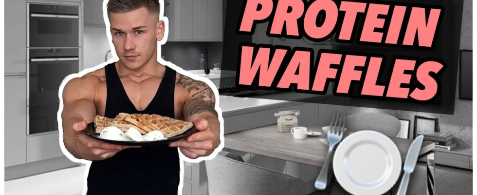 How to make perfect PROTEIN WAFFLES