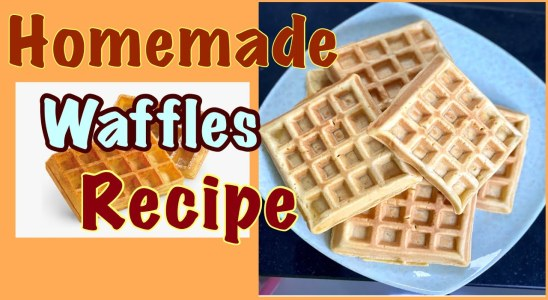 How to make the best homemade Waffles from scratch| Light & crispy waffles. Best breakfast recipes