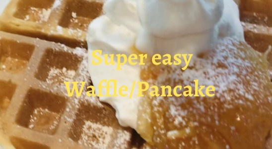 Super easy waffles