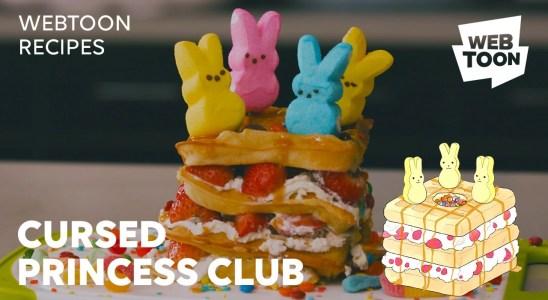 WEBTOON Recipes: How to Make Jamie's Favorite Waffles from Cursed Princess Club