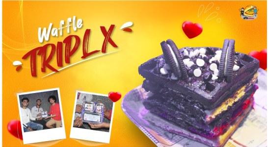 Waffle | TripleX Waffle | Chocolate Waffle | byuva_waffle_cafe | Street food of Mumbai | EPM