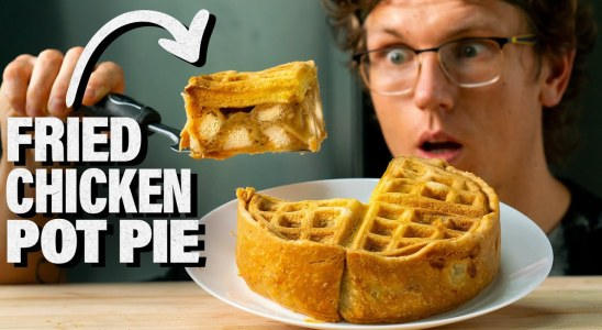 Chicken & Waffles Pot Pie Recipe (from Will it Pot Pie?)