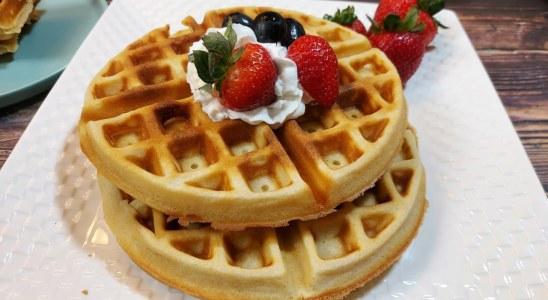 Easy Waffle Recipe | How To Make Waffle | #Shorts