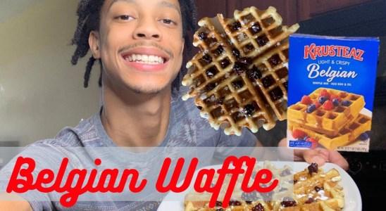 Krusteaz Belgian Waffle Recipe