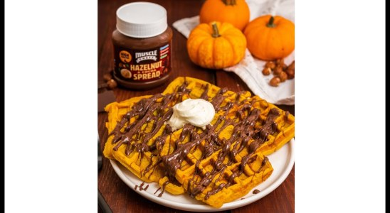 Muscle Cheff Pumpkin Waffles Recipe!