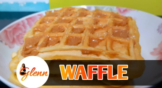 WAFFLE RECIPE  QUICK AND EASY  SNACK WAFFLE MAKER RECIPE HOW TO PREPARE WAFFLE.