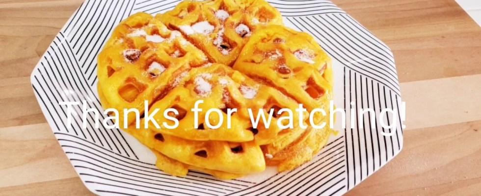 Hotcakes Filipino Waffles Street Food Recipe |