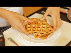 Low-Calorie Belgian Waffles Recipe