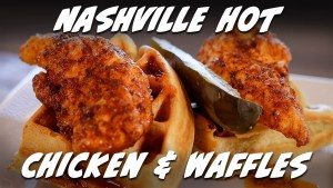 Nashville Hot Chicken and Waffles Recipe | Taste of Retirement