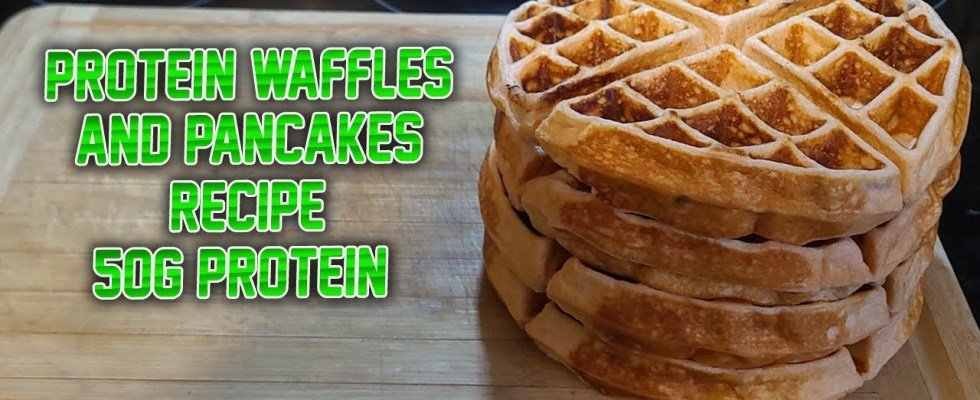 PROTEIN PANCAKES AND WAFFLES RECIPE! | HEALTHY BREAKFAST RECIPE!