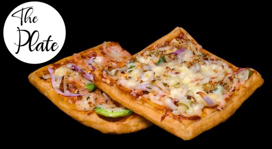 Waffle Pizza Recipe | Easy Homemade Pizza Waffles | The Plate
