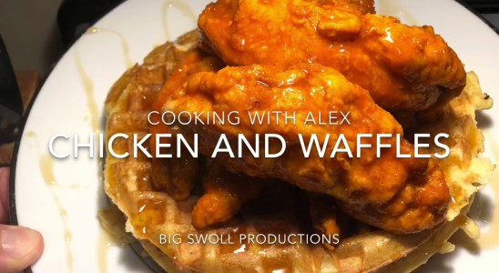 Cooking With Alex: Chicken and Waffles