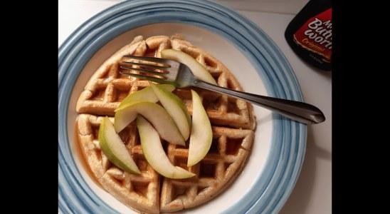 Easy Waffle Recipe | Homemade Waffle | Easy Breakfast