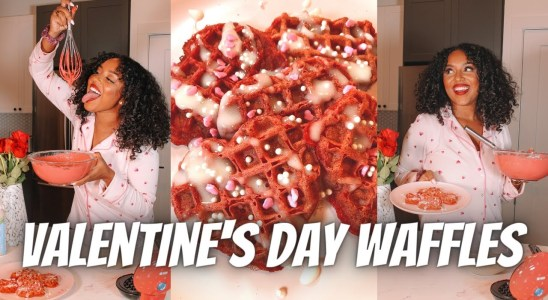 RED VELVET WAFFLES I VALENTINE'S DAY I COOKING/BAKING STEP BY STEP with a little SPICE & LAUGHTER!!!