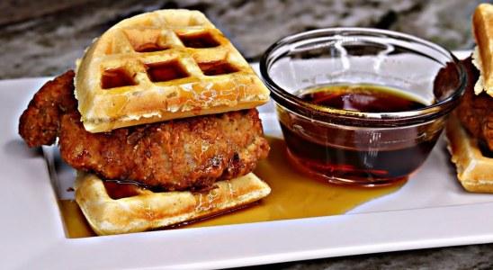 Buttermilk Chicken & Waffles Sliders Recipe