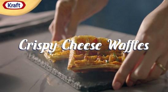 Ramadan Recipes: Crispy Cheddar Waffles