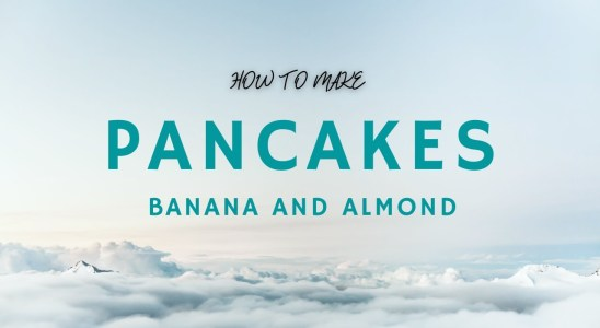 Banana and Almond Pancakes/Waffle - Nutritious Recipe! Dairy Free! Optional Gluten Free and Oil Free