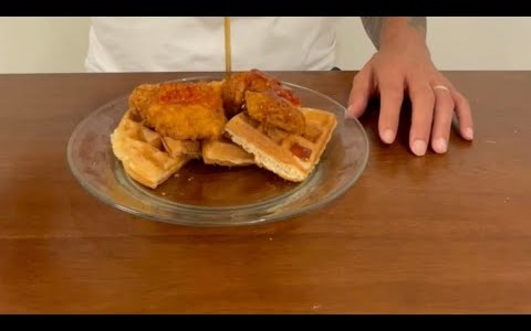How to make Chicken & Waffles | Let's Go!
