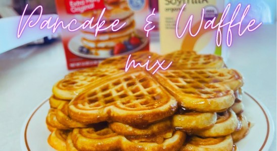 QUICK & EASY BREAKFAST RECIPE   PANCAKE & WAFFLE MIX   HOME MADE   STAY AT HOME MOM   PINAY IN US
