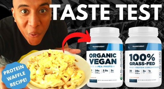 TRANSPARENT LABS PROTEIN REVIEW + Waffle Recipe + Special Giveaway