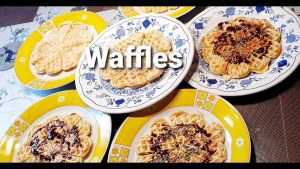 How to make waffles l Homemade waffles Recipe by royal quick recipe and vlogs