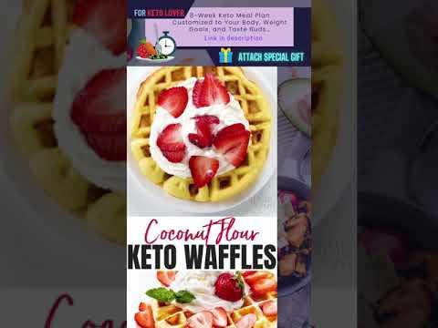 Keto Coconut Flour Waffles | Healthy Keto Recipes