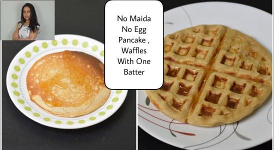 Pancake recipe in Telugu   No egg waffle and pancake  In Telugu  Telugu Vantalu
