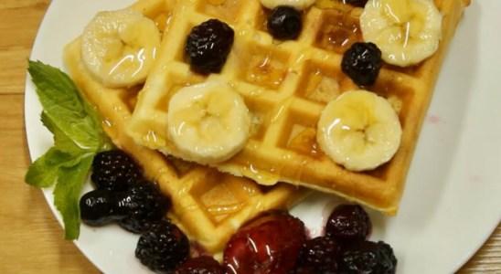 Waffles recipe | crispy and tasty waffles