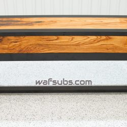 Spalted Pecan Subwoofer Table Furniture