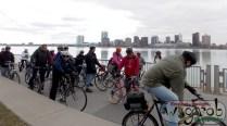 Detroit River - with Windsor in BG