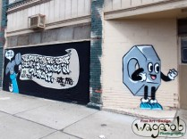 Street Art - Old Nuts and Bolts Store