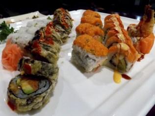Yummy sushi. :)