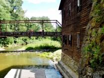 Pine Creek Mill, Muscatine, IA. Copyright Robert Hartwig.