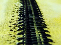Belt-stitches, Pine Creek Mill, Muscatine, IA. Copyright Robert Hartwig.