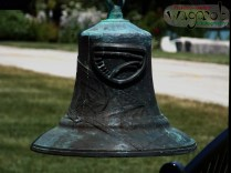 Commemorative fire-fighter's bell.