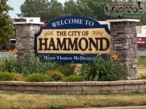 Bienvenue à la ville d'Hammond, IN