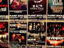 Show poster, Planet Rock, Copyright Robert Hartwig 2013