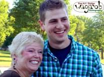 Linda et Zack le jour avant la mariage.