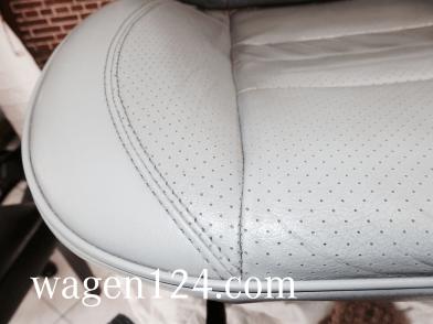 W124 - Lederausstattung reinigen