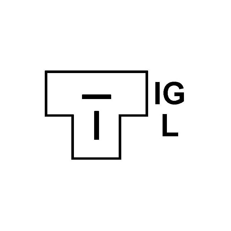 Alternator replacing DENSO 101211-2850 / 101211-8521 for