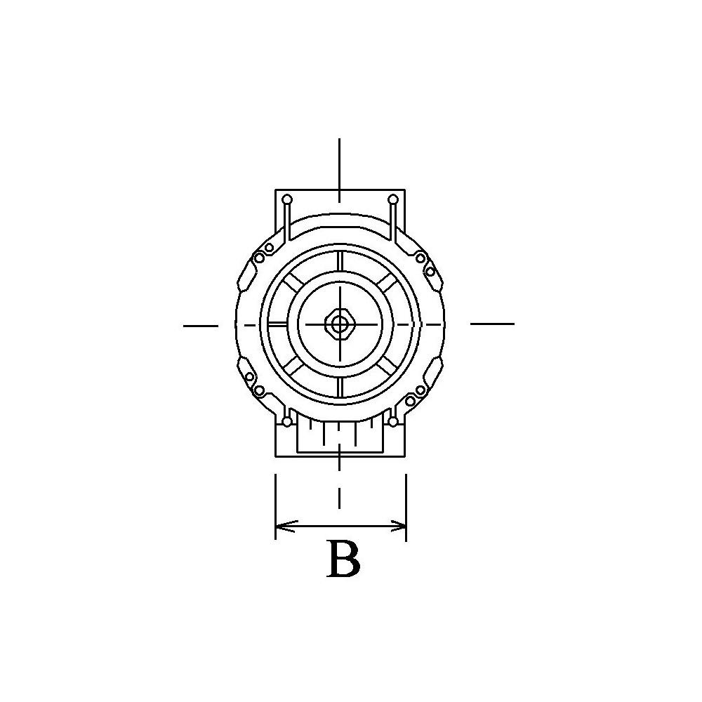 Alternator VALEO TG17C044 for Audi A6