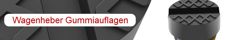 Wagenheber Gummiauflagen Banner