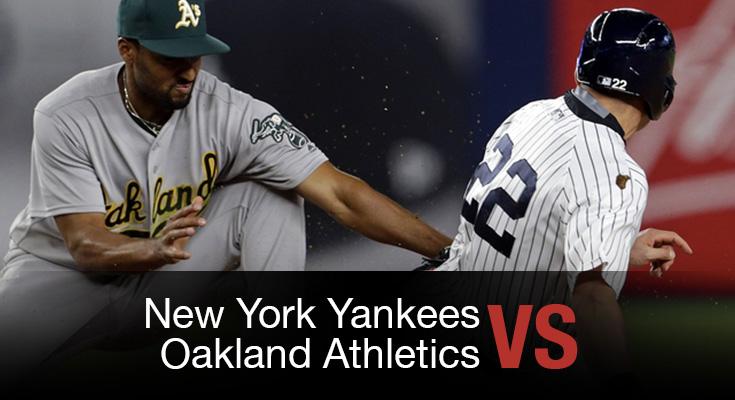 Resultado de imagen para yankees vs oakland