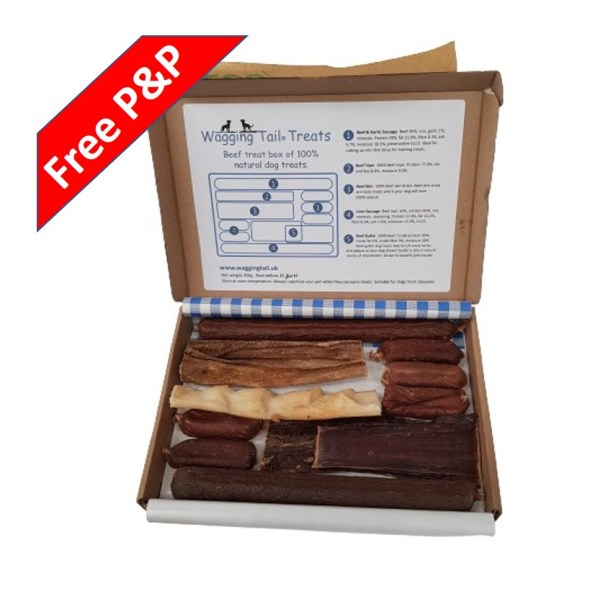 Beef Treat Box Natural Free Postage