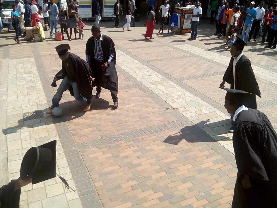 Unemployed graduates protest lack of opportunity in