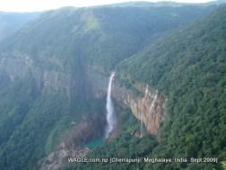 water falls of cherrapunji