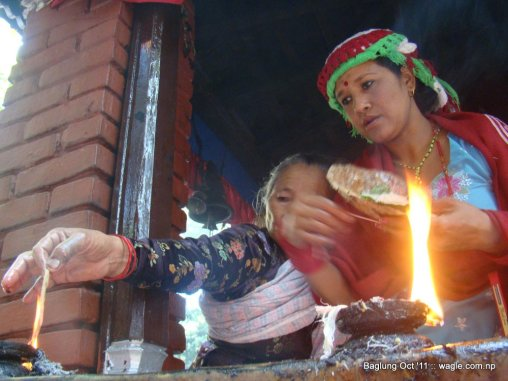 baglung kalika temple dashain festival (12)