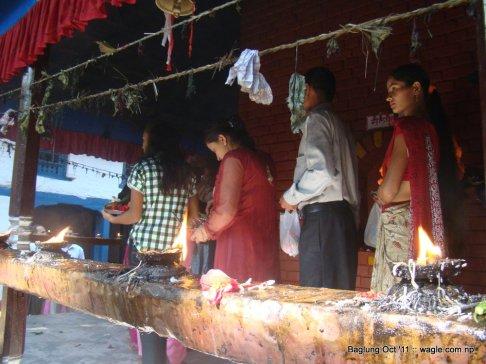 baglung kalika temple dashain festival (6)