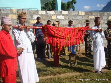 nepal army celebrates dashain festival in baglung (7)